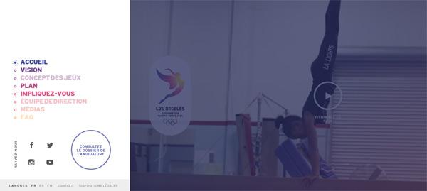 jeux olympique de los angeles
